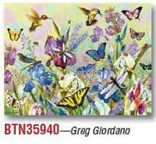 NOTE CARDS by Leanin' Tree -Hummingbirds & Butterflies---Pack of 8