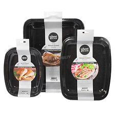 3 Pièce Émail grillage TIN SET Four Plaques de cuisson Racks légumes viande cuisson