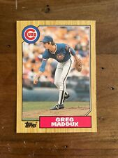 1987 Topps Traded Greg Maddux Rookie card # 70T (15 available) PSA 10.. 🤔