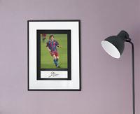 Lionel Messi Autogramm Kopie und Foto 20x30 (A4) Autograph Reprint Copy