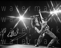 """Eddie Van Halen signed 8""""X10"""" print photo poster pic autograph RP"""