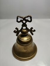 Vintage Antique Hand Bell with bent key handles