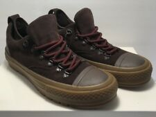 Converse Womens Size 6 Chuck Taylor Descent OX Low Shoes Brown Suede New