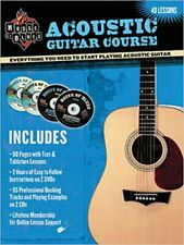 House Of Blues Acoustic Guitar Course Gtr Bk, Very Good, Various Book