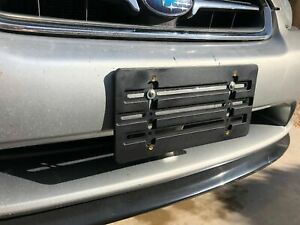 License Plate Tag Holder Mount Relocator Adapter Bumper Kit Brackrt for SUBARU