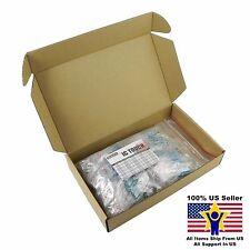 50value 500pcs 3W Metal Film Resistor +/-1% Assortment Kit US Seller KITB0144