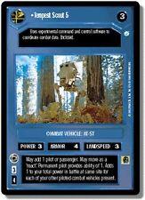 Star Wars CCG Endor DS Rare Tempest Scout 5