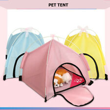 Portable Pet Dog Cat Tent Folding Outdoor Indoor Home House Bed Nest Travel Play