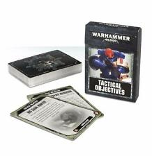 Warhammer 40,000 Tactical Objective Cards -8th Edition GAW 40-20-60