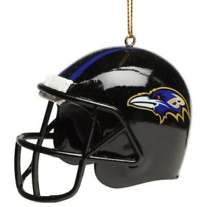 """Baltimore Ravens NFL 3"""" Limited Edition Helmet Ornament - New in Box"""