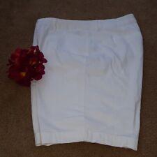 St John's bay 20W white Bermuda shorts ladies  (B2)