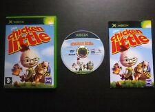 JEU Microsoft XBOX : Disney CHICKEN LITTLE (enfants COMPLET envoi suivi)