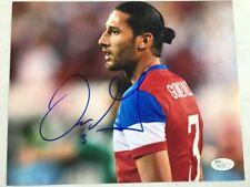 Omar Gonzalez Usa Soccer Signed Authentic 8X10 Photo Autographed Jsa Coa
