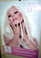 Christina Aguilera Lotus Original 2012 Original Double SidedPromo Display Card