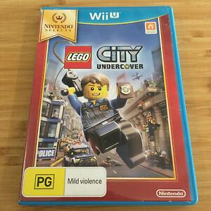 LEGO City Undercover | Nintendo Wii U Game | Like New Disc | Australian Seller