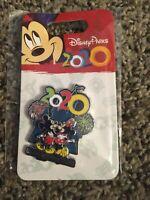 "Disney Pin - Walt Disney World ""Mickey & Minnie Mouse 2020"" Watching Fireworks"
