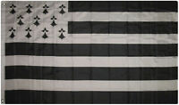 3x5 Bretagne Brittany Flag of France 3'x5' Banner Grommets Fade Resistant