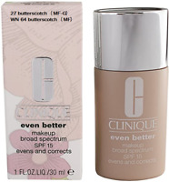 Clinique Even Better Makeup SPF 15 Evens and Corrects -1oz/30ml- 27 butterscotch