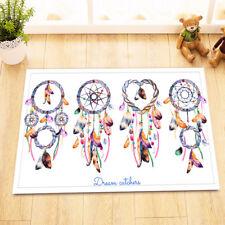 Boho Ethnic Style Dreamcatchers Kitchen Bathroom Bath Door Floor Mat Bathmat Rug