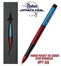 Fisher Space Pen #PT-SS / Star Spangled Anodized Aluminum Pocket Tec Pen