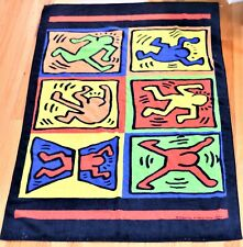 "New listing Vintage 1993 Keith Haring Playboy ""Six Dancing People� Oversized Beach Towel"