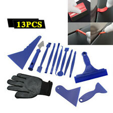 Car Vinyl Wrap Film Tools Squeegee Scraper Gloves Professional Kits Blue Abs X13 (Fits: Chrysler Concorde)