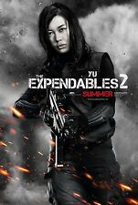 THE EXPENDABLES 2 - Movie Poster - Flyer - 13.5x20 - NAN YU