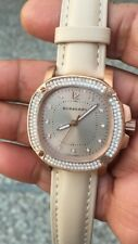 Burberry BBY2000 Britain Collection Beige Leather Strap Watch with Original Box