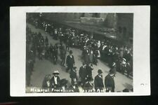 Said to be possibly DEWSBURY Yorkshire  Memorial Procession (Edward VII) 1910 RP