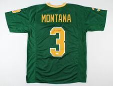 JOE MONTANA Signed Autographed Green Jersey JSA COA