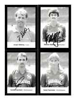 Autogrammkartensatz Hannover 96 1986-87 8 Karten Original Signiert(548)