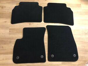 Original Vauxhall Insignia B GM Doormat Set Velour Black 4-teilig From Year 2017
