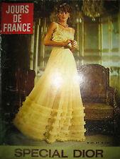 0975 HAUTE COUTURE SPECIAL DIOR SHEILA RINGO J.-P. CASSEL JOURS DE FRANCE 1973