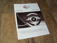 Catalogue / Brochure TECHART Volants pour PORSCHE/ Sport Steering Wheels 2016 //