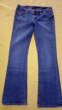 Seven Premium Brand sz 31 women's bluejeans with sequins on back pockets (38)