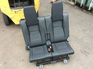 Land Rover Discovery Sport Rear Seats 3rd Row Load Space Black Leather
