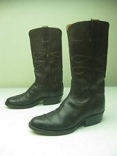 DISTRESSED BROWN CUSTOM MADE IN USA COUNTRY WSTERN COWBOY BOOTS 9-9.5