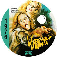 Werewolf Woman (1976) Classic Thriller and Horror 'B' Movie DVD NR