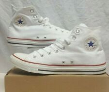 CONVERSE CHUCK TAYLOR ALL STARS HI TOPS WHITE CANVAS SIZE 11 EUR 45 RRP £55.00