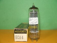 Sylvania EZ81 6CA4 Vacuum Tube Very Strong Balanced Results =