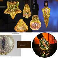 Feuerwerks-Effekt-Birne für buntes Birnen-Licht der Partei-Hochzeits-3D LED E2U4