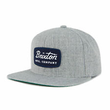Brixton Men s Jolt Snapback Cap Heather Grey e5741f432d16