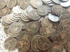 Victoria Pennies 50 coin 1895 to 1901  BRONZE PENNIES 50 bulk lot