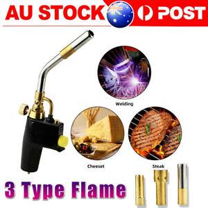 TS8000 Bernzomatic Style Blow Torch Kit Brazing Soldering Mapp Gas Map Christmas