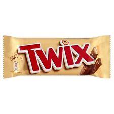 Twix Twin Chocolate Bars - 50g - Pack of 6 (50g x 6 Bars) (1.76 oz  x  6)