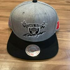 Los Angeles Oakland Raiders New Mitchell & Ness Super Bowl Champs Gray Era Hat