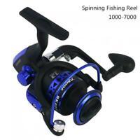 1000-7000 Spinning Fishing Reel 5.5:1 13BB Rock Lure Sea Carp Fishing Wheel Blue