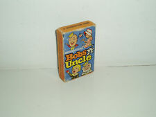 Vintage Bobs Yr Uncle card game by Waddingtons. 1963.
