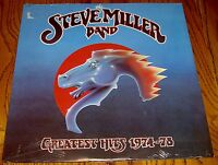 THE STEVE MILLER BAND GREATEST HITS 1974 - 1978 ORIGINAL LP STILL SEALED!