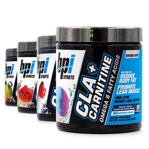 BPI Health CLA + CARNITINE Non-Stim Weight Loss & Lean Muscle Formula 50 Serving